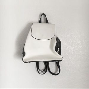 Certified Vegan White Urban Expressions Backpack